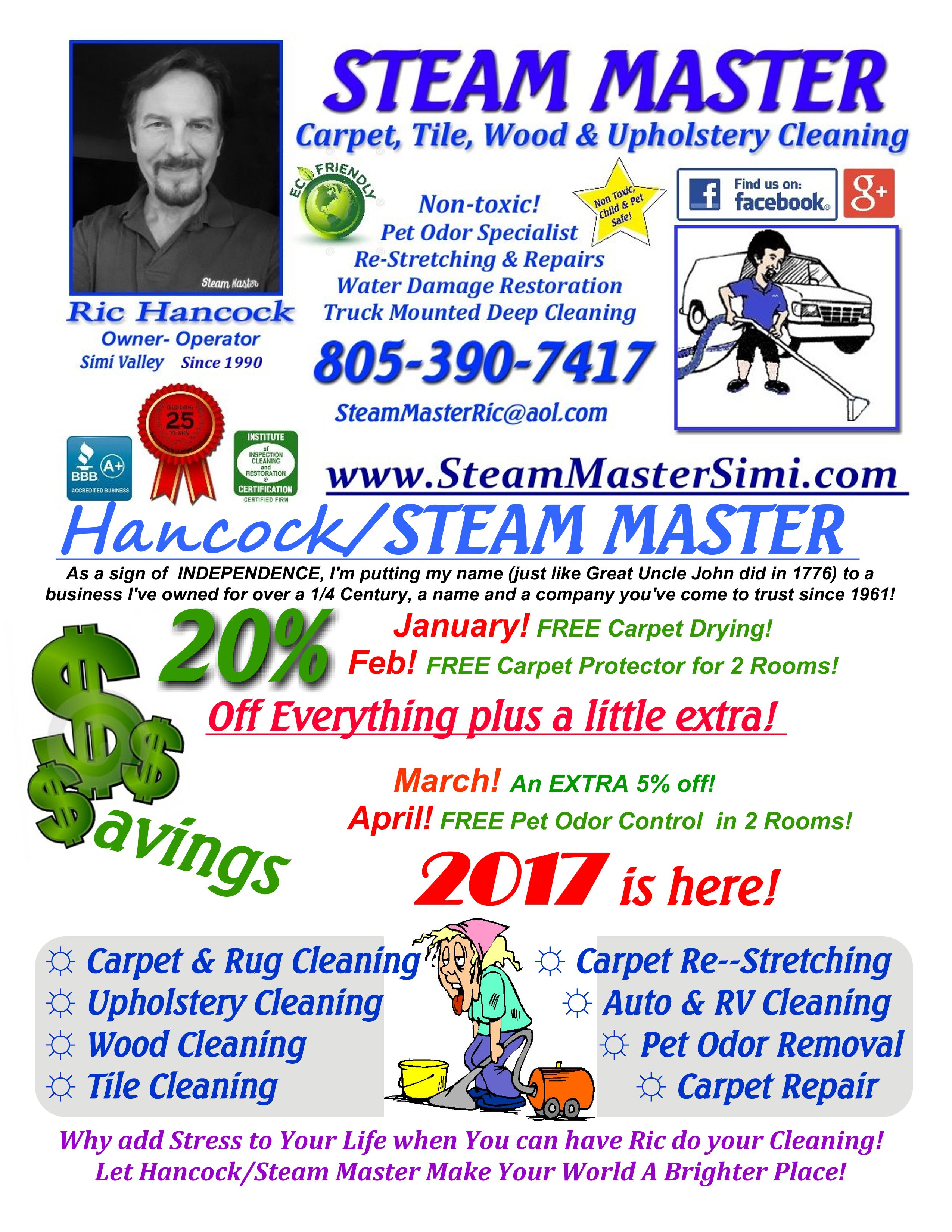 steam master of simi valley